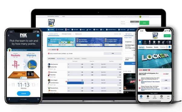 FOX Bet Website & Mobile App Interface