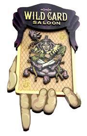 Wild Card Saloon Black Hawk CO Logo